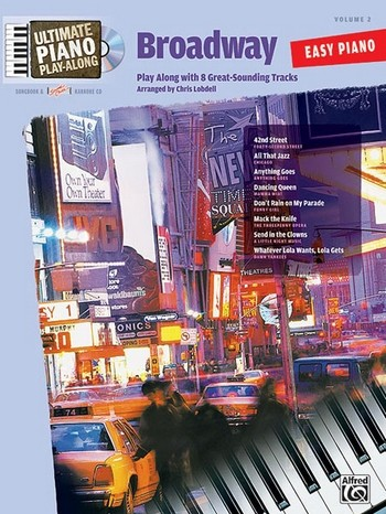 Broadway (+CD): for easy piano (with text) Ultimate piano playalong vol.2
