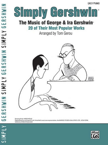 Simply Gershwin: for easy piano (with text)