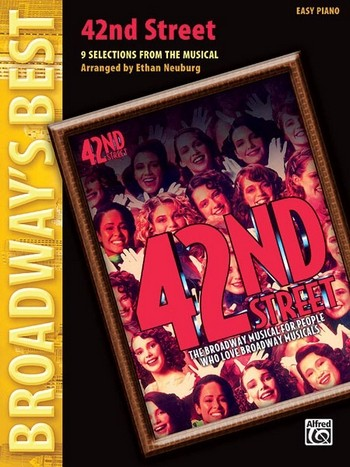 42nd Street (Selections): for easy piano (with text)