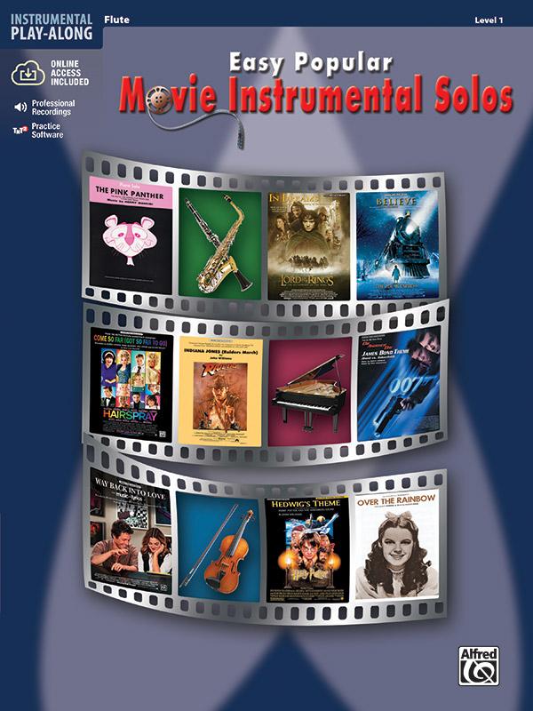 Easy popular Movie Instrumental Solos (+CD): for flute