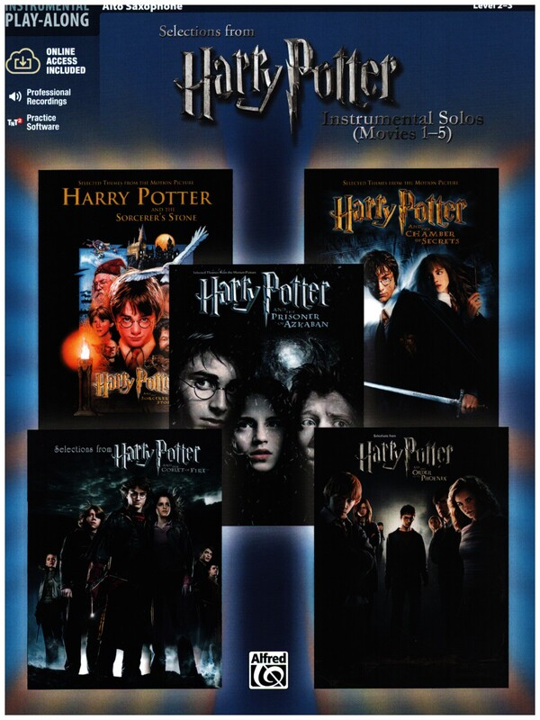 - Selections from Harry Potter vol.1-5 (+CD) :