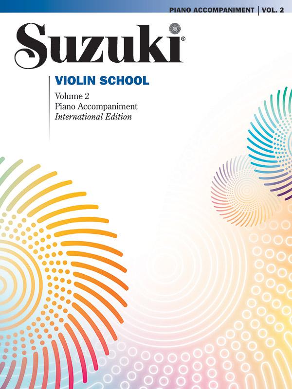 Suzuki Violin School vol.2: piano accompaniments