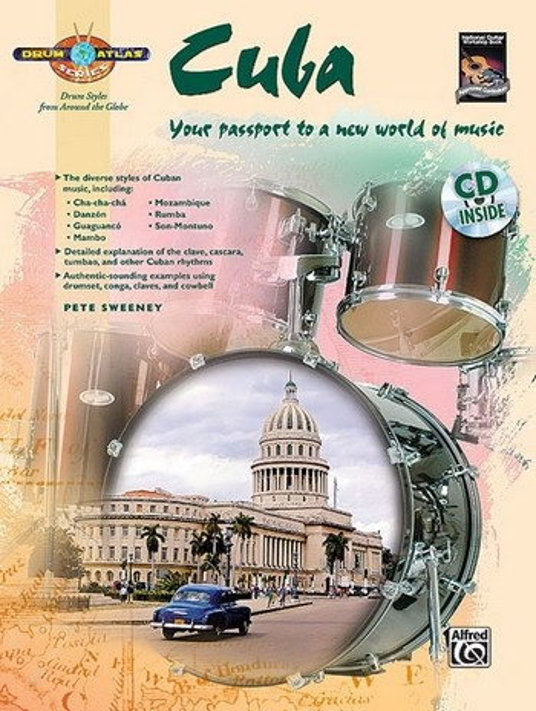 Drum Atlas - Cuba (+CD): for drum set