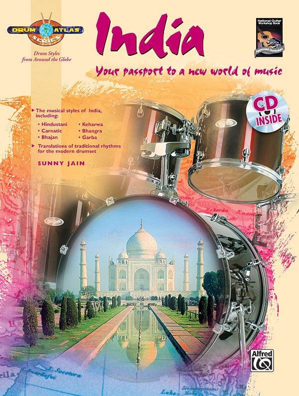 Drum Atlas - India (+CD): for drum set