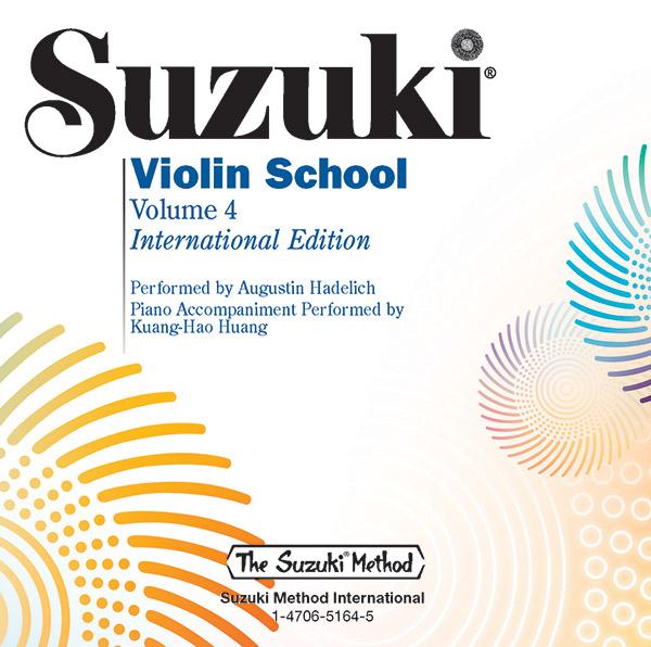 Suzuki Violin School vol.4: CD Revised edition
