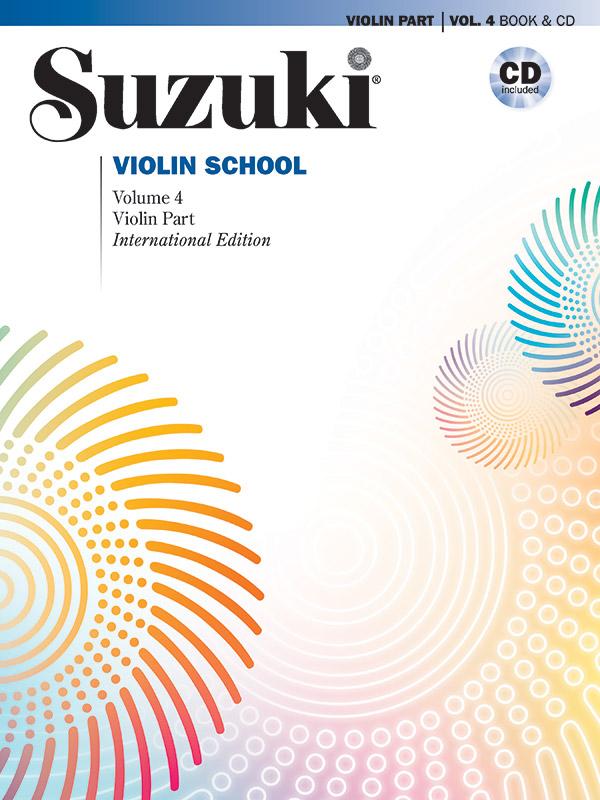 Suzuki Violin School vol.4 (+CD): for violin Revised edition