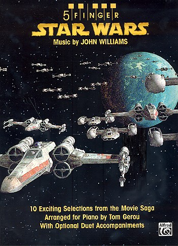 5 Finger Star Wars: for piano with optional duet accompaniments