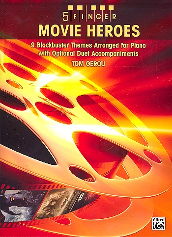 5 Finger Movie Heroes: for piano with optional duet accompaniments