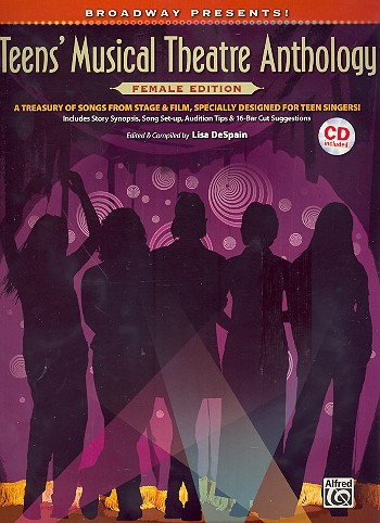- Teen's Musical Theatre Anthology (+CD) :
