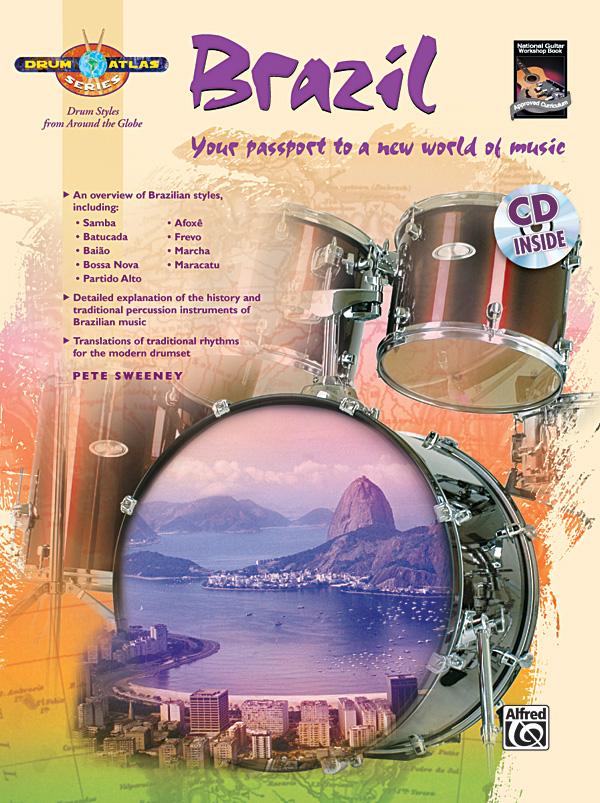 Drum Atlas - Brazil (+CD): for drum set