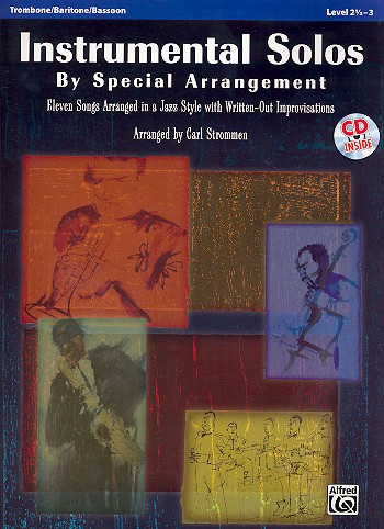 Instrumental Solos by special Arrangement (+CD): for trombone/baritone/bassoon