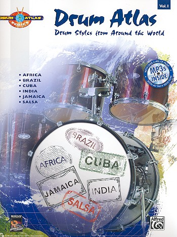 Drum Atlas Vol.1 (+CD): for drum set