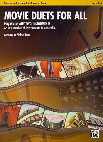 - Movie Duets for all : for 2 instruments
