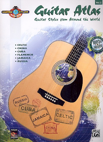 Guitar Atlas vol.2 (+MP3): Guitar Styles from around the World