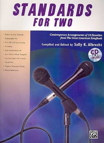 - Standards for two (+CD) : for 2 voices