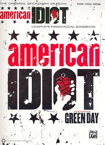 American Idiot: The Musical songbook piano/vocal/guitar