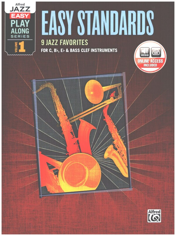 - Easy Standards (+CD) : for C, Eb, and