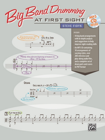 Big Band Drumming at first Sight (+MP3-CD): for drum set