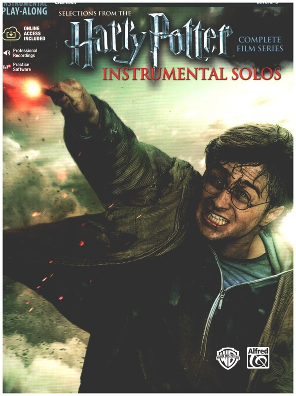 Harry Potter Instrumental Solos (+CD): for clarinet