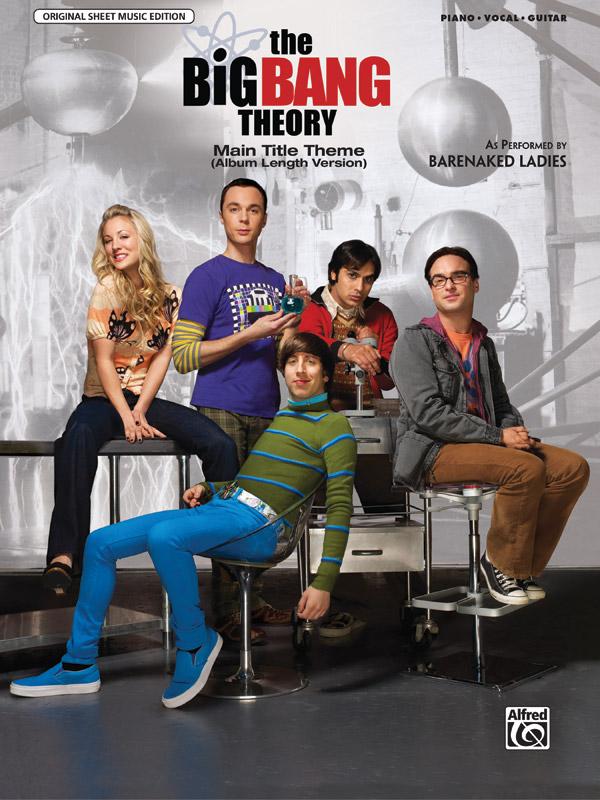 Big Bang Theory (Main Title Theme): for piano/vocal/guitar