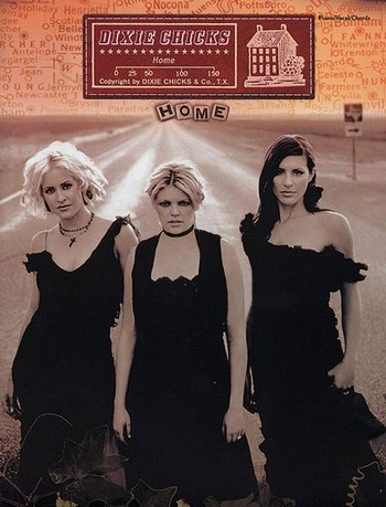 Dixie Chicks: Home Songbook piano/vocal/guitar