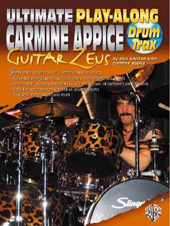 Carmine Appice (+CD): for drums Ultimate play along drum trax