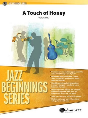 A Touch of Honey: for jazz ensemble