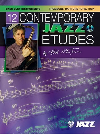 12 Contemporary Jazz Etudes (+CD): for trombone Trombone and piano albums