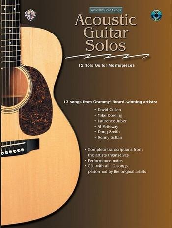 Acoustic Guitar Solos (+CD): for guitar/tab