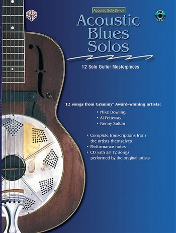 Acoustic Blues Solos (+CD): for guitar/tab