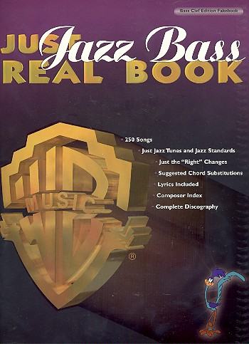 Just Jazz Bass Real Book: bass clef edition fakebook