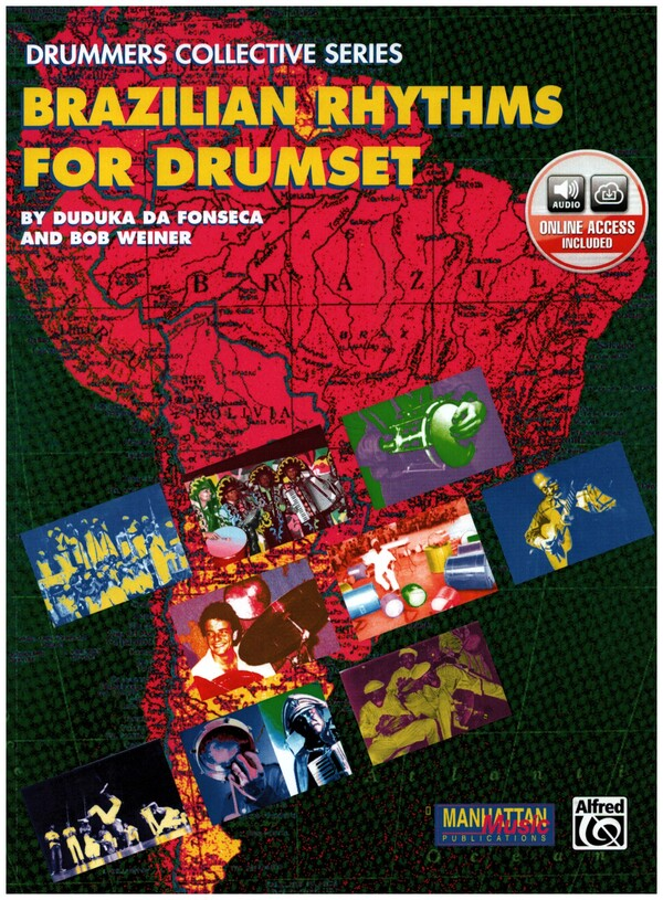 Brazilian Rhythms (+CD): for drumset