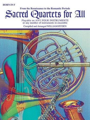 Sacred quartets for all: Horn in F