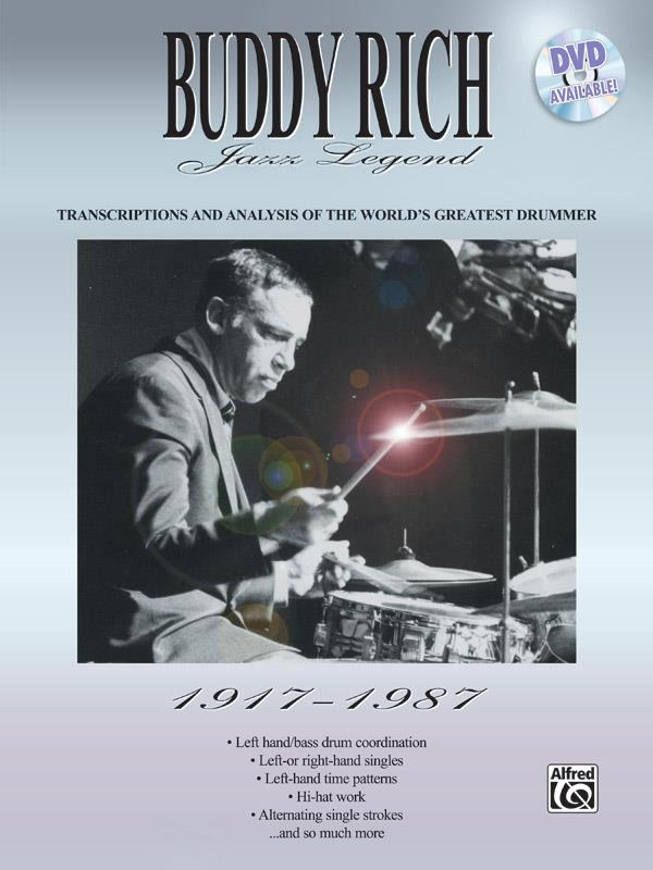 Buddy Rich: Jazz Legend 1917-1987 for drummer