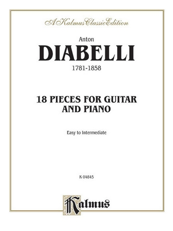 18 Pieces: for guitar and piano