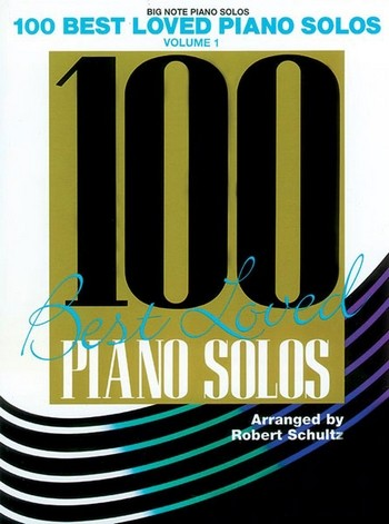 100 best loved Piano Solos vol.1 (Big Anote Edition)