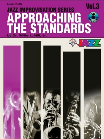 Approaching the Standards vol.3 (+CD): for bass clef instruments