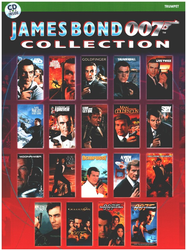 James Bond 007 Collection (+CD): for trumpet