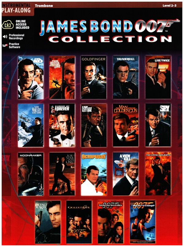 James Bond 007 Collection (+CD): for trombone