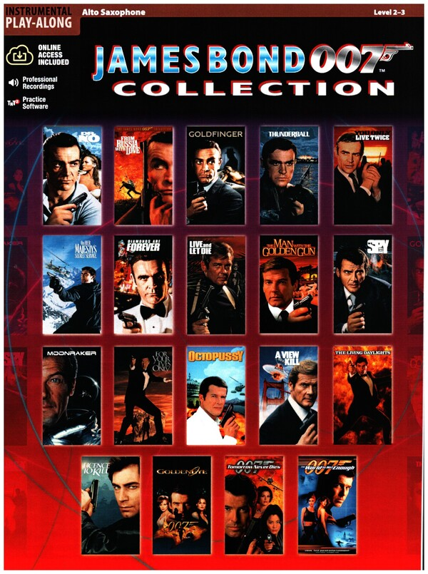 - James Bond 007 Collection (+CD) :
