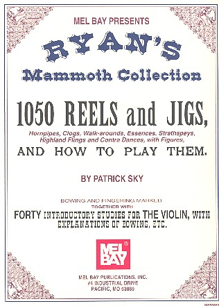 1050 Reels and Jigs and how to play them and 40 introductory Studies: