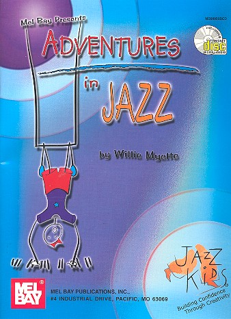 Adventures in Jazz (+CD): for piano