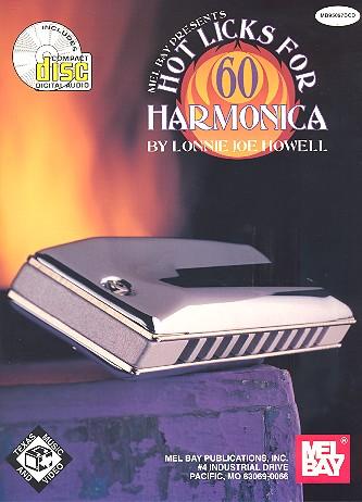 60 hot Licks (+CD): for harmonica
