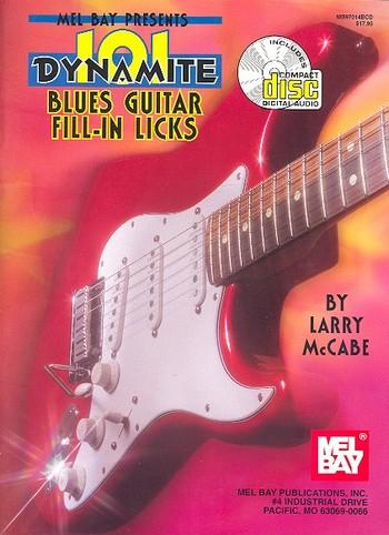 101 Dynamite Blues Guitar Fill-In Licks (+CD)