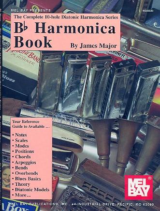 Bb Harmonica Book: for 10-hole diatonic harmonica