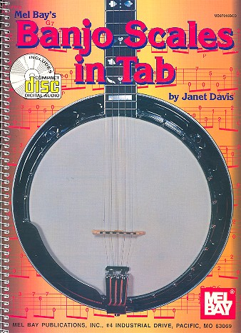 Banjo Scales in Tab (+CD): for 5-string banjo