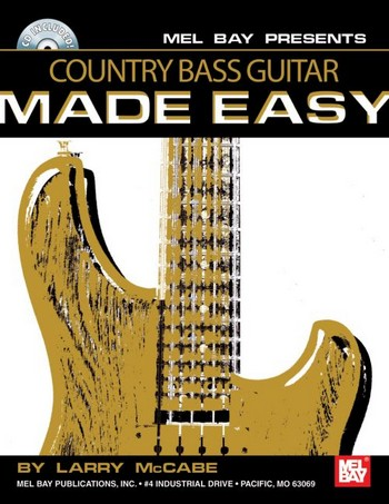 Country Bass Guitar Made Easy (+CD)