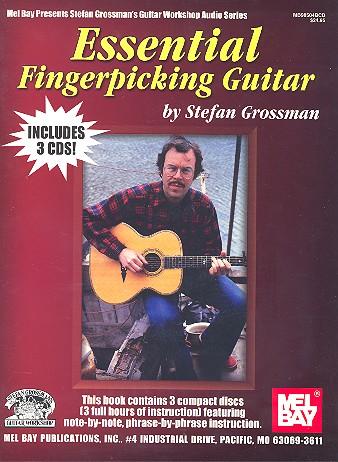 Essential Fingerpicking Guitar (+3 CD\