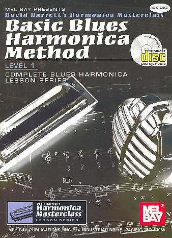 Basic Blues Hamonica Method Vol.1 (+CD)