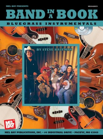 Band in a Book (+CD): Bluegrass Instrumentals